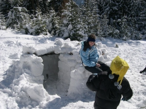 Igloo in the Taunus @Smangane